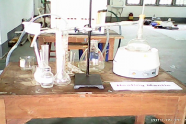 Laboratory in Fuel and Propellant Engineering Department