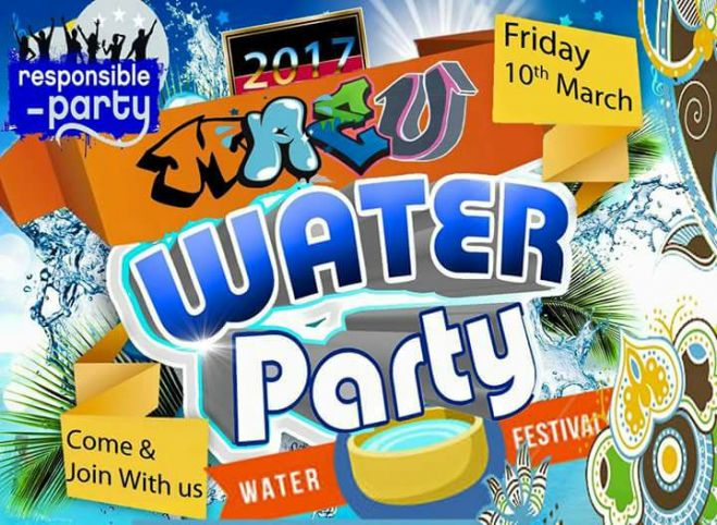 MAEU WATER FESTIVAL! COME N JOIN US YA'LL NEVER FORGET